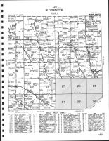 Code J - Lake Township - East, Bloomington Township, Muscatine, Muscatine County 1967